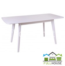 Кухонный стол Модерн 120*75 Белый раскладной