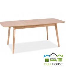 Кухонный стол Модерн 120*75  Бук раскладной