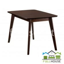 Кухонный стол Модерн 120*75  Орех не раскладной