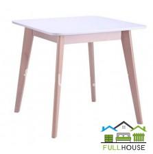 Кухонный стол Модерн 80*80 Бук / Белый