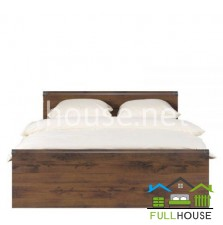 Кровать  JLOZ  140 ( каркаc ) Индиана Дуб Шуттер