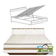 Кровать двуспальная Вудс LOZ 160 с подъемным механизмом
