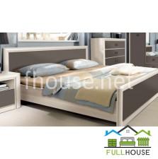 Кровать  LOZ160  Коен 2 Дуб темный хаки /сосна каньйон
